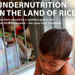 Undernutrition in the Land of Rice