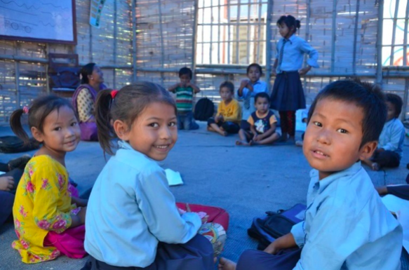 kids-back-at-school-in-nepal