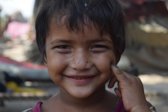 GPEI photo - smiling child