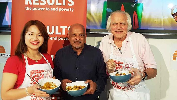 daisy-kumar-and-peter-with-the-finished-product -SBS Food