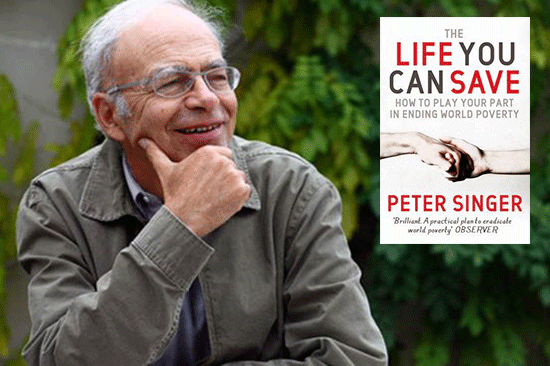 A conversation with Peter Singer