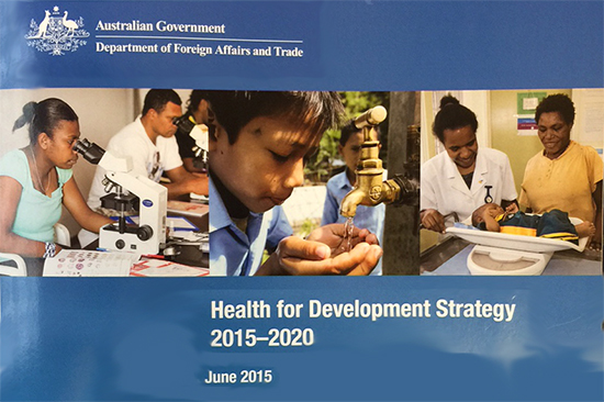 Health for Development Strategy: a positive step