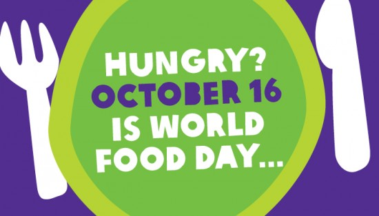 World Food Day- a time to commit to child nutrition