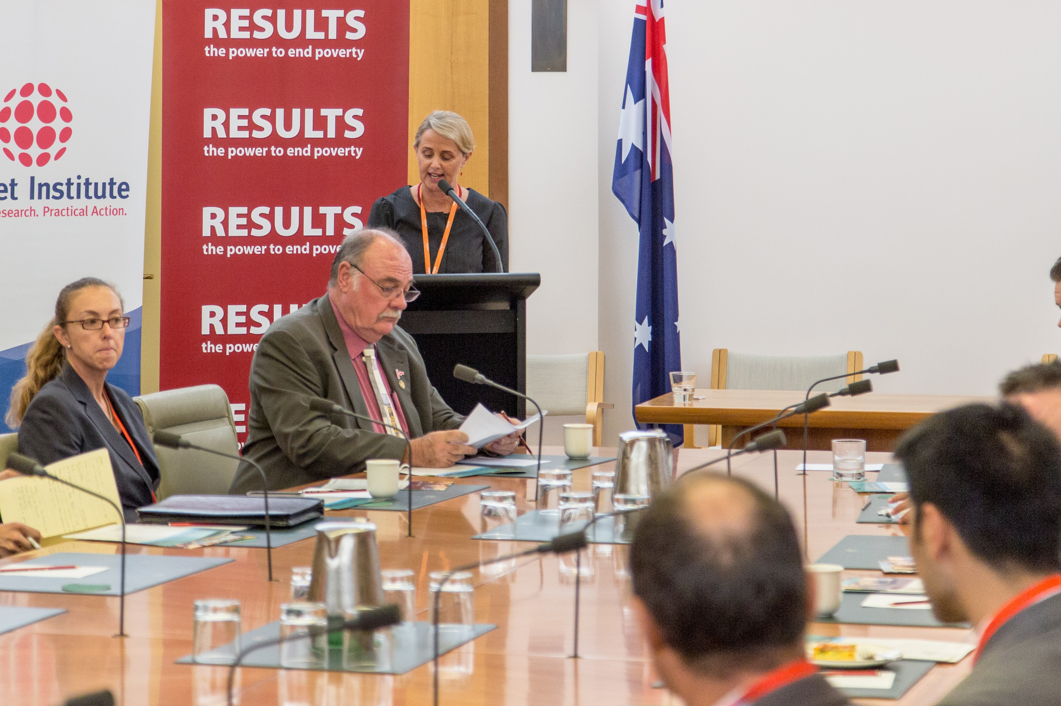 Launch of Australian TB Caucus in Canberra