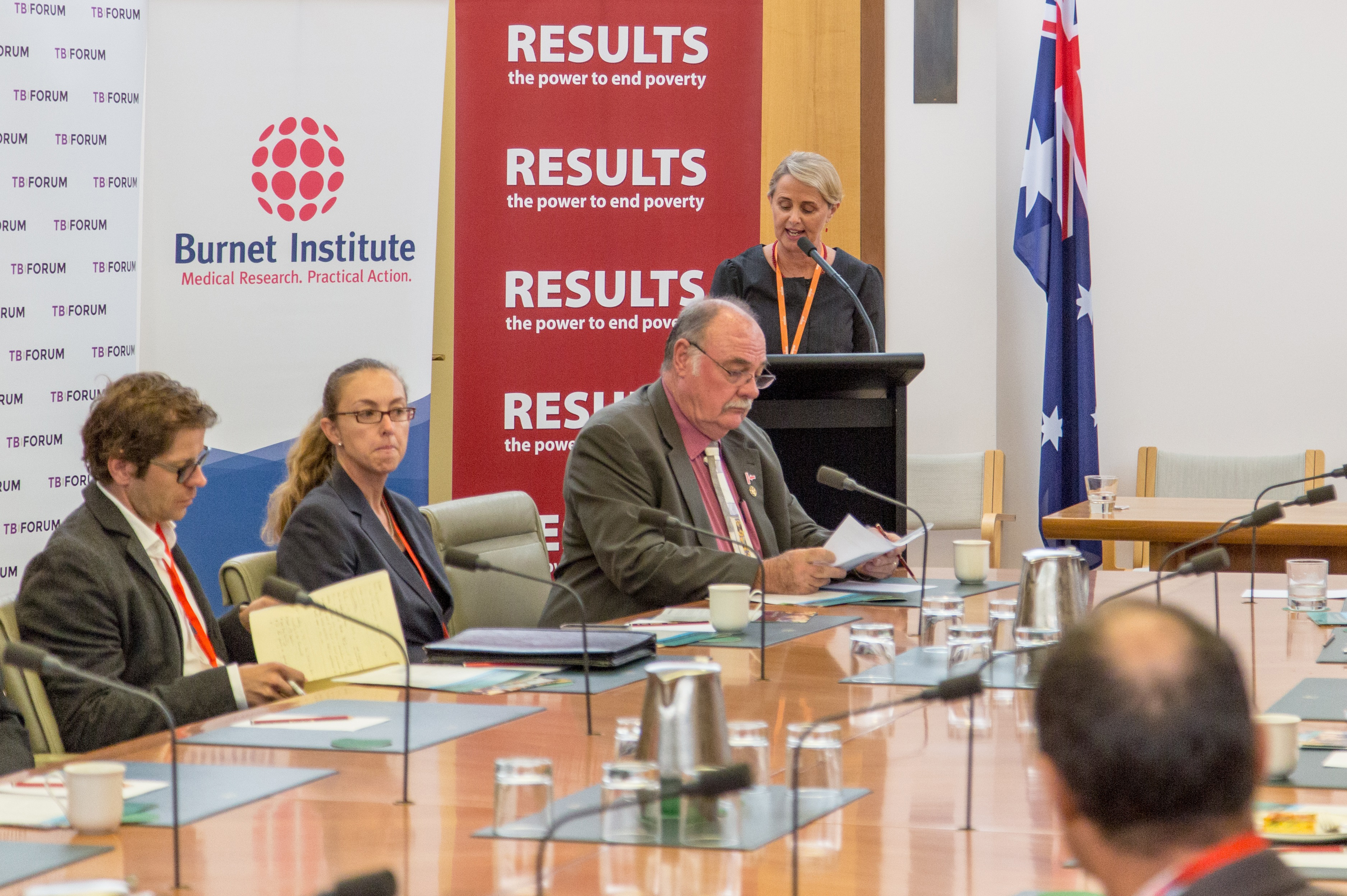 Parliament members fight the biggest infectious killer