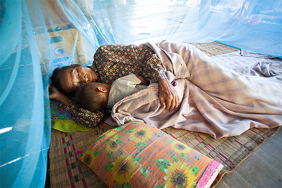 World-Malaria-Day-Sleeping