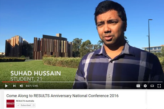 RESULTS 30th Anniversary National Conference 2016