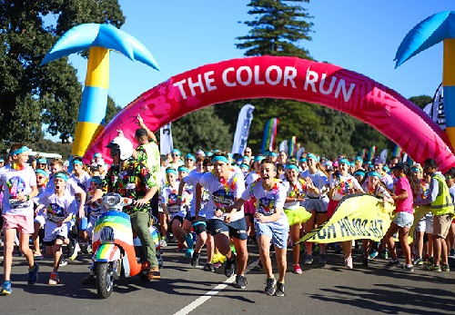 Color Run, Melbourne