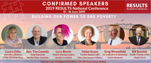 2019 RESULTS National Conference Speaker Line Up