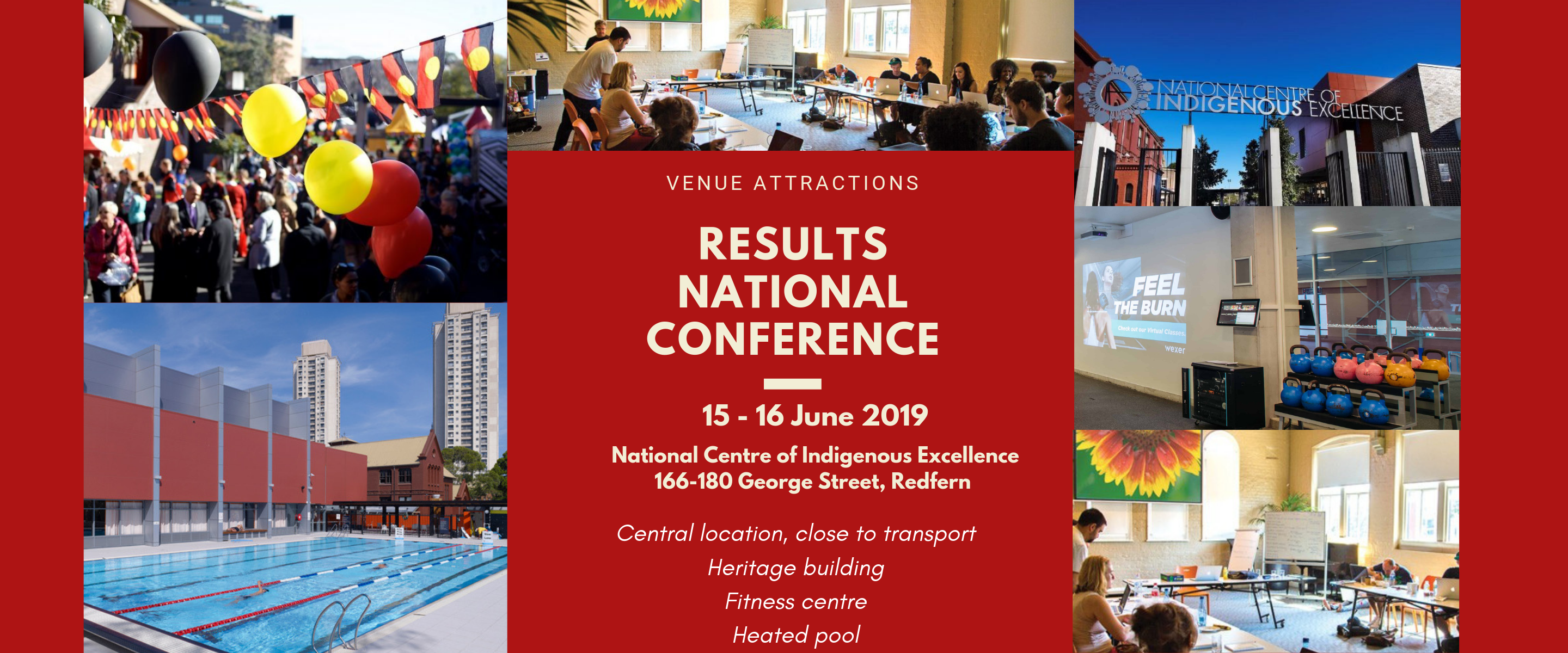 RESULTS 2019 National Conference, NCIE Venue