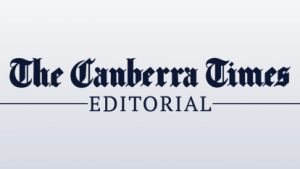 The Canberra Times, logo, letter published by Peter Graves