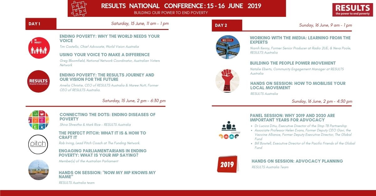 National Conference Sessions