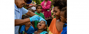 Polio vaccine treatment given in Papua New Guinea