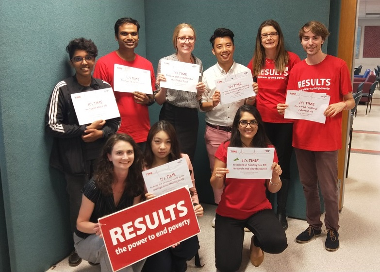 RESULTS Australia Staff and Volunteers