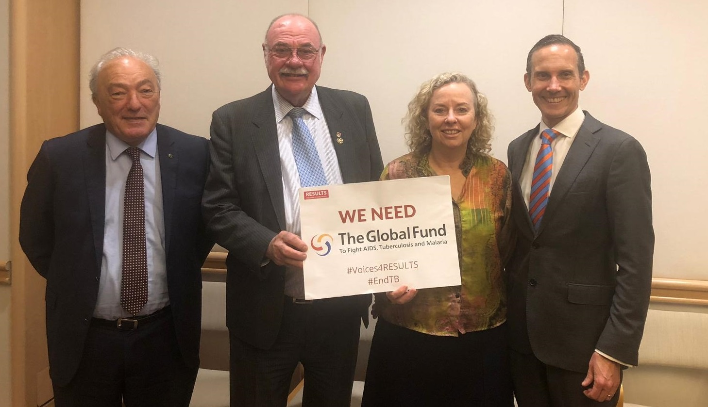 The Australian TB Caucus goes from strength to strength…