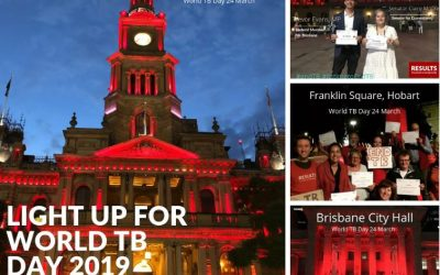 Light Up Red for World TB Day – 24th March 2020