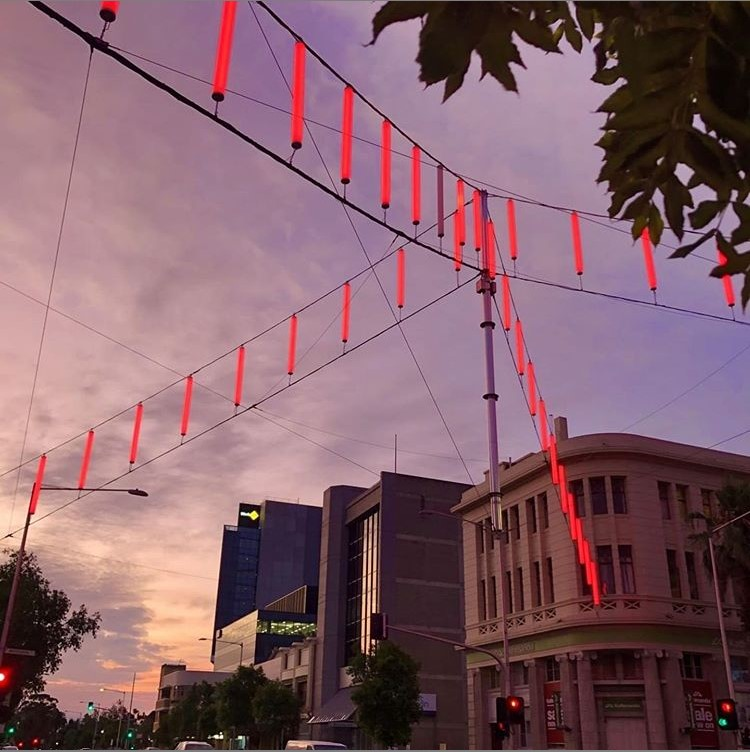 Catenary Lights - City of Greater Geelong