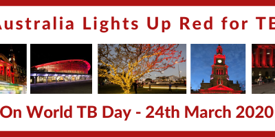 Light Up Red for TB on World TB Day 24 March 2020