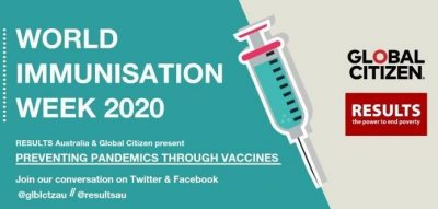 World Immunisation Week Webinar with Global Citizen