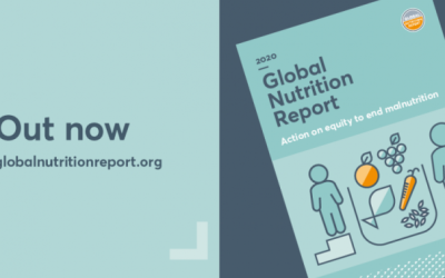 Global Nutrition Report – How do we  accelerate progress on nutrition in the COVID-19 period?