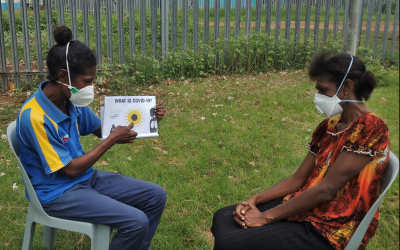 Case Study: A community-led response to TB and COVID-19 in PNG