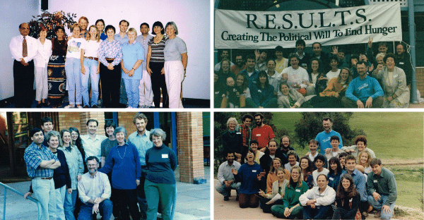 After 35 years, recognising and sustaining Results Australia's progress